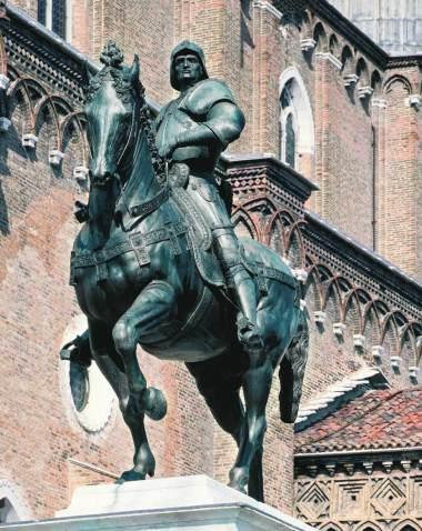 verrocchio andrea del, equestrian statue of colleoni, 1481-1495, campo di santi giovanni e paolo, venice